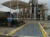Échelles de pesage élevées de camion d'extraction de capacité