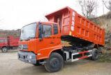 판매를 위한 180HP Dongfeng 12m3 화물 자동차 트럭 12t 팁 주는 사람 덤프 트럭