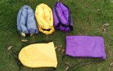 Linge gonflable en polyester avec tente de plage (T6)