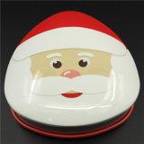 クリスマスの金属のクッキーかキャンデーのギフトの錫のブリキボックス(T001S-V20)
