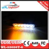 6 LED Surface Mount Strobe Lighthead Warning Light Warning