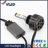 IP68 impermeável DC 8V 48V Multi Color V16 4 Chips Crees Auto farol do carro H4 880 LED