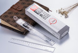 Régua do plástico do espaço livre da régua da régua Hw-R20 20cm de Haiwen Stright única
