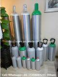 Tanques de alumínio do cilindro de gás do Fábrica-Preço 40L com válvulas Qf-35c