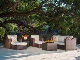 Europäisches im amerikanischen Stil Hotel PET Rattan-Sofa-Set