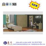 China-Fabrik-Schlafzimmer-Möbel-einfaches doppeltes hölzernes Bett (B16#)
