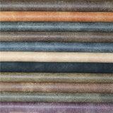 Bom couro elegante da camurça do falso do plutônio do Fastness de cor para o material dos calçados