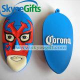 Marchio personalizzato Keychain del PVC per il regalo promozionale
