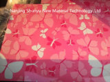 Il colore rosso ha preverniciato l'acciaio galvanizzato con la stampa del fiore per costruzione decora