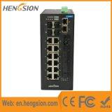 Comutador de rede Ethernet 4 Gigabit Combo e 4 portas de fibra