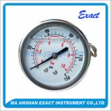 스테인리스 압력은 압력을 측정한다 후에 등록 압력계를 측정한다 Fillable