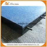 Mattonelle di pavimentazione di gomma delle stuoie di gomma approvate di sicurezza di estensione per il banco
