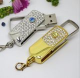 Hot Jewellry diamante regalo de boda USB Flash Disk Thumb Drive