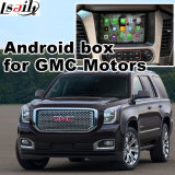 Interface de Vídeo de Navegação GPS Android para Gmc Yukon Sierra Canyon Terrain etc