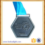 Medalhões creativos personalizados da liga do zinco para recompensas da competição