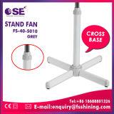 Base de la croix de 16 pouces support électrique du ventilateur en plastique