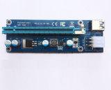 PCI-E a Pcie estendono il cavo con la scheda della colonna montante di USB3.0 PCI-E per estrazione mineraria