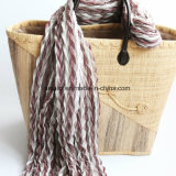 100% acrílico impreso bufanda (ABF22001789)