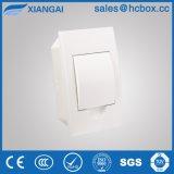 Placa de Distribuição da Caixa de Distribuição de plástico caixa comutadora Hc-Tfw 4 maneiras de cor branca