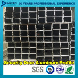 Perfil de aluminio de aluminio de la serie Theftproof de la barandilla