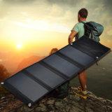 14W портативный водоустойчивый двойной заряжатель USB Sunpower солнечный