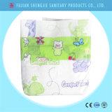 熱い販売カバースマートで使い捨て可能な赤ん坊のおむつの工場価格のような魔法テープ布