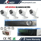 Home Security 4 Channel Kit NVR IP sem fio