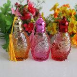 rullo di vetro ambrato della bottiglia di profumo del Roll-on 10ml 10ml sulla bottiglia con la sfera di rullo del metallo