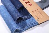 tela da sarja de Nimes do algodão do Twill do Slub 9.8oz para calças de brim