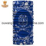 Qualitäts-im Freienschweiss-saugfähiger Polyester-Ausdehnungpaisley gedruckter Bandana