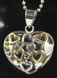 2016 de Juwelen van de Halsbanden van het Meisje van de Manier van de Douane van de Halsband van de Tegenhanger van het Hart van het knipsel