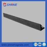 Chanfradura magnética de aço 20X20mm da forma do triângulo para o molde do concreto pré-fabricado