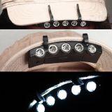 5개의 LEDs 클립 챙 빛