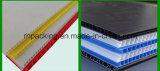 le panneau ondulé de feuille/cannelure de 2mm-10mm pp/a ridé le constructeur en plastique de panneau