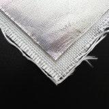 Haute température Film aluminium réfléchissant la chaleur tissu en fibre de verre enduit