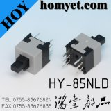 8,5 X 8,5 mm Non verrouillable / verrouiller Momentary Tact Tactile Push Button Switch 6 broches