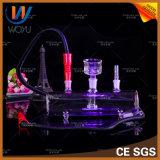 De LEIDENE Lichte Waterpijp van het Glas voor Rokende Staaf Shisha