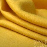 Tessuto delle lane di colore giallo 100% per la stagione di inverno e di autunno