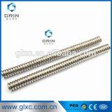 Acero inoxidable flexible corrugado de manguera de metal 304