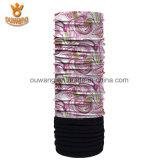 Bandana polar impresso costume do lenço da câmara de ar do chapéu de Neckwarmer do velo