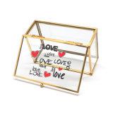 Vidrio de la moda de lujo personalizado Joyero (Jb-1062)