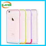 Colorful Slim Free Assemble Phone Protective Frame pour iPhone6