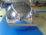 Pubblicità dell'aerostato gonfiabile d'argento dello specchio