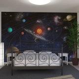 Natürliche materielle Wand-Wandbilder Ploster Wand-Kunst-Entwerfer-Tapete von China