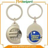 Het PromotieMetaal Keychain van het Ontwerp van de Manier van de douane