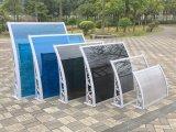 Heißes Verkaufs-wasserdichtes Stahlrahmen-Polycarbonat-einziehbare Markise