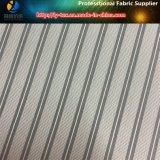 De mensen passen Voering in de Polyester Geweven TextielStof van de Streep van de Keperstof (aan S42.46)