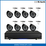 red DVR del CCTV de 8CH 1080P para la vigilancia video