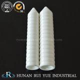 Precisión que pule la pieza de cerámica del Zirconia industrial, tubo de cerámica de Rod del Zirconia