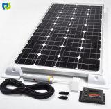 Panneau monocristallin d'énergie d'énergie solaire de 72 cellules